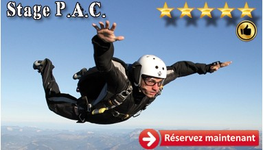 Stage PAC d'une semaine, learn to skydive
